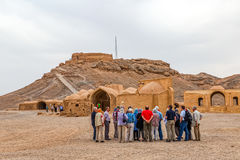 Tower of Silence in Yazd Stock Photography