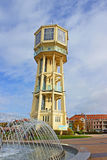 Tower in Siofok, Hungary stock images