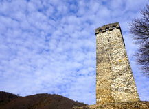 Tower and sky Royalty Free Stock Photos