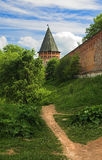 Tower of the Smolensk fortress wall Stock Images