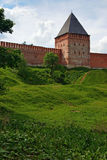 Tower of the Smolensk fortress wall, Russia Royalty Free Stock Images