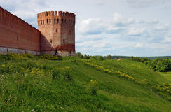 Tower of the Smolensk fortress wall, Russia Stock Photos