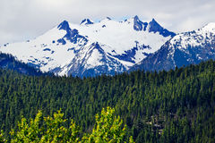 Tower Snow Mountain Washington Pass Royalty Free Stock Photography