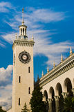 Tower in Sochi 2014 Royalty Free Stock Image