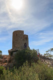 Tower of souls in Majorca Stock Image