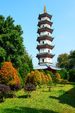 The tower on the south peak. The photo was taken in Splendid China scenic spot Shenzhen city Guangdong province, China Royalty Free Stock Photo