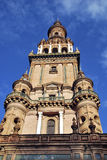 Tower in Spain Square Royalty Free Stock Photography