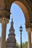 Tower of Spain Square Royalty Free Stock Images