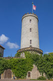 Tower of the Sparrenburg castle in Bielefeld Stock Photography