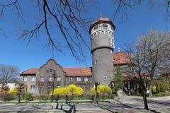 Tower spas. Is the main landmark of the town Svetlogorsk (until 1946 German Rauschen), Kaliningrad Oblast, Russia Royalty Free Stock Images