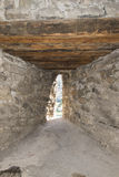Tower of Spiez castle, Switzerland royalty free stock photos