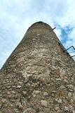 The tower of Spis Castle (or Spissky hrad). Slovakia. The tower of Spis Castle (or Spissky hrad) in eastern Slovakia. Built in the 12th century royalty free stock photos