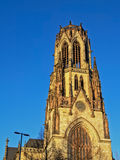 Tower of St. Agnes catholic church, cologne Royalty Free Stock Photography