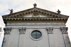 Tower of St. Agnese church in Treviso, Italy Royalty Free Stock Images