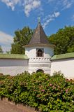 Tower (1689) of St Boris and Gleb monastery in Dmitrov, Russia Royalty Free Stock Photo