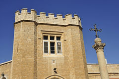 Tower of St. Georges church. Royalty Free Stock Photo