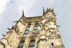 Tower of St. Jacques in Paris. Royalty Free Stock Photos