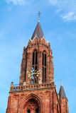 Tower of St Johns Church in Maastricht, Netherlands Royalty Free Stock Image