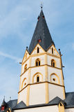 Tower of the St. Laurentius church Royalty Free Stock Photography