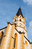 Tower of the St. Laurentius church Stock Images