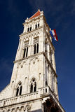 The tower of St. Lawrence cathedral Royalty Free Stock Photos