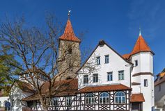 St. Leonhard Church, Lauf an der Pegnitz Royalty Free Stock Images