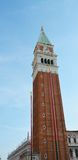 Tower in St. Mark's Square, Venice, Italy Royalty Free Stock Photo