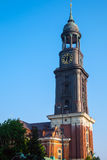 The tower of St. Michaelis church Royalty Free Stock Photography