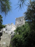 Tower of St. Peter's castle. Bodrum Royalty Free Stock Photography
