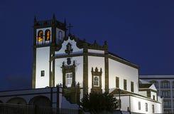 Tower of St. Sebastian church Stock Image