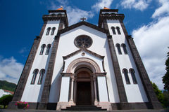 Tower of St. Sebastian church (Igreja Matriz de Sao Sebastiao) i Stock Photos
