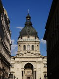 Tower of St. Stepans dome stock image