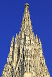 Tower of St.Stephans cathedral. In Vienna, Austria Stock Photo