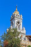 Tower of St Stephen Church in Istanbul Stock Image