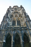 Tower of St. Stephen's cathedral in Vienna Stock Photos