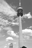 Tower of stadium of the Olympiapark in Munich Stock Photo