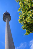 Tower of stadium of the Olympiapark Royalty Free Stock Images