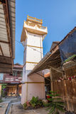 Tower staking out thief at Kao Hong Market, Thailand Royalty Free Stock Image