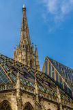 Tower of Stephansdom cathedral-Vienna,Austria Stock Photo