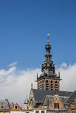 Tower of the Stevens church in Nijmegen Royalty Free Stock Photo