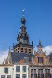 Tower of the Stevens church in Nijmegen Stock Photography