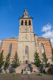 Tower of the Stevens church in Nijmegen Royalty Free Stock Images