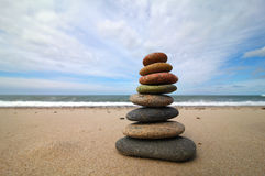 Tower of Stones Royalty Free Stock Photos