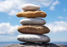 A tower of stones Royalty Free Stock Photo