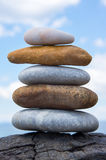 A tower of stones Royalty Free Stock Photography
