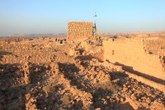 Tower and Storerooms Complex in Masada Stock Image