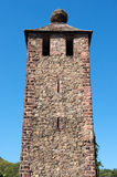 Tower with Stork Nest Stock Photos