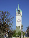 Tower of Straubing Royalty Free Stock Image