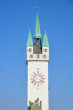 Tower in Straubing, Bavaria Royalty Free Stock Photos