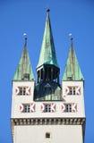 Tower in Straubing, Bavaria Royalty Free Stock Image